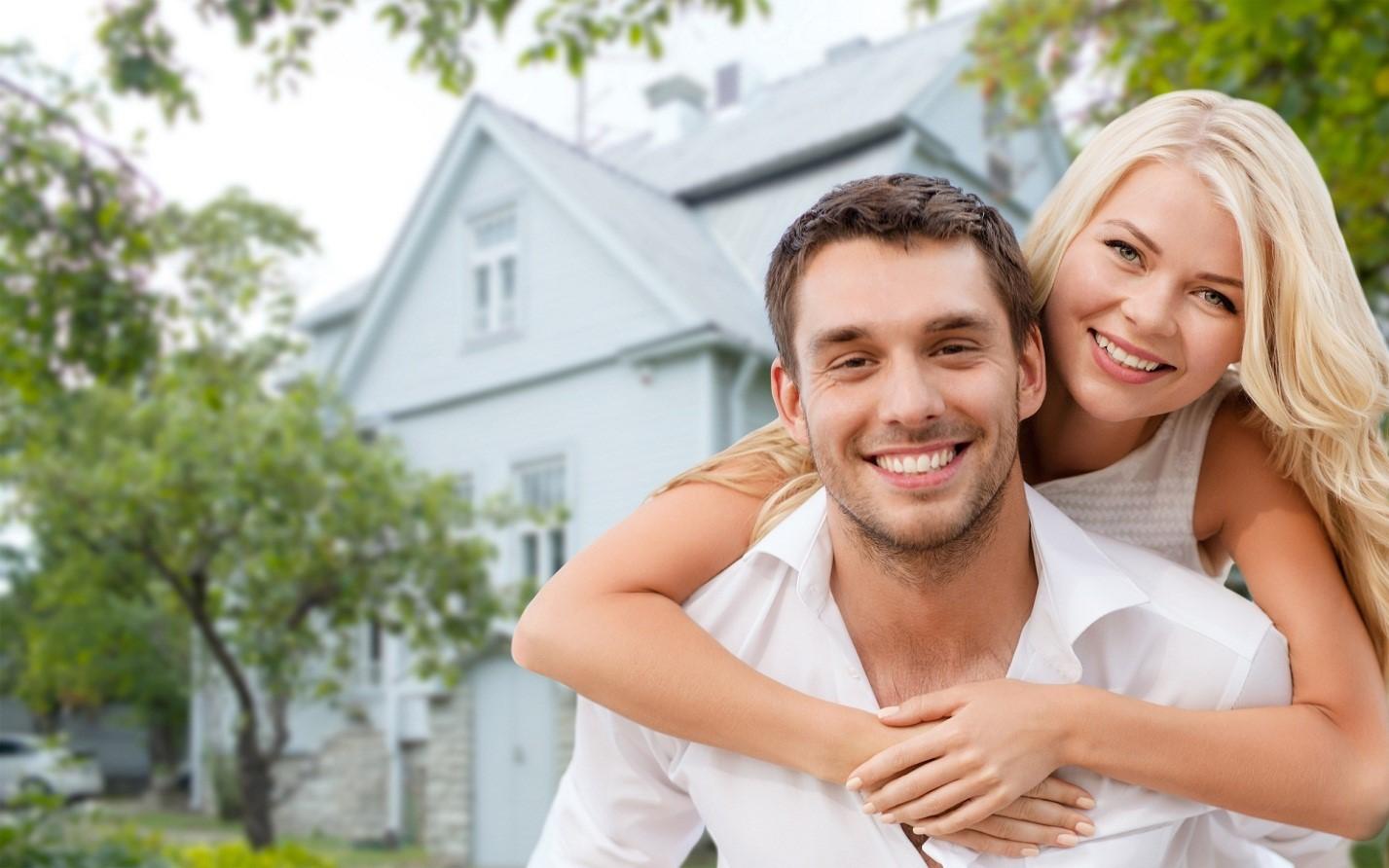 Молодая пара муж и жена — 2
