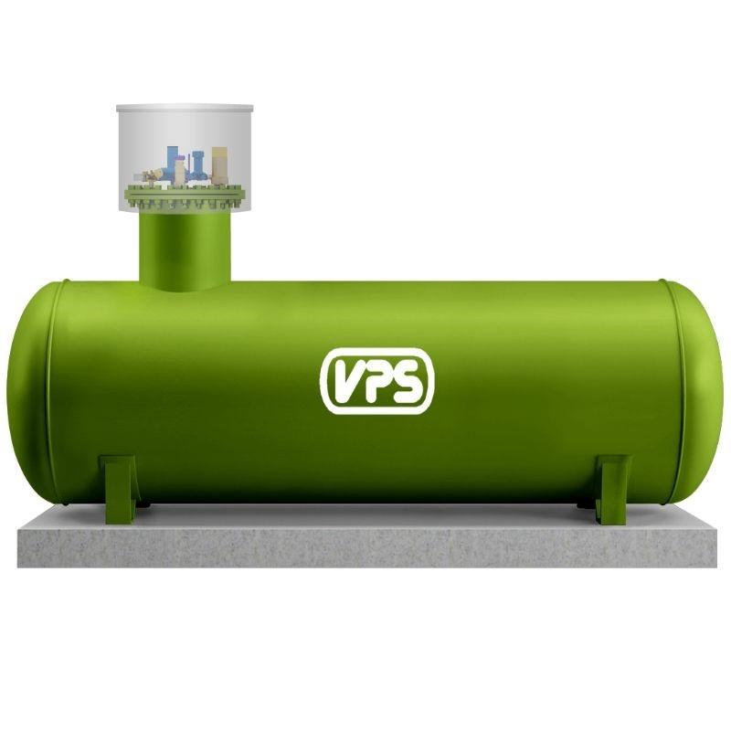 Газгольдер VPS (Чехия) 2700 л.