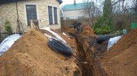 Прокладываем газопровод от газгольдера к дому